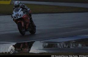 ASBK Queensland Raceway. Friday Practice.  2012 Round 5