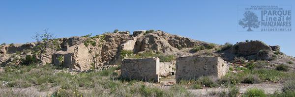 Casas cueva en el Parque Lineal
