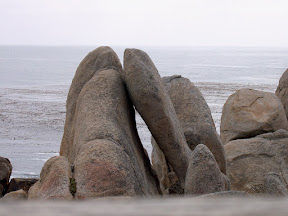 Rock formation, 17 Mile Drive