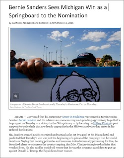 20160311_2000 Bernie Sanders Sees Michigan Win as a Springboard to the Nomination (NYT).jpg