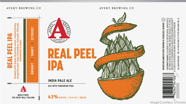 Avery Updating Real Peel IPA Cans