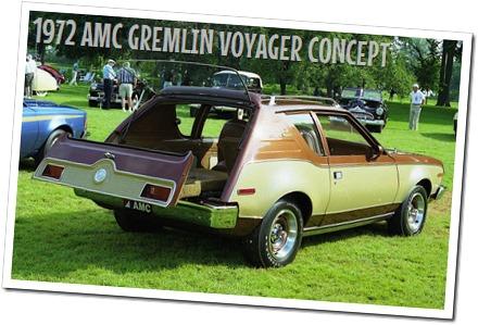 1972 AMC GREMLIN VOYAGER CONCEPT - autodimerda.it
