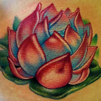 red - tattoos for women