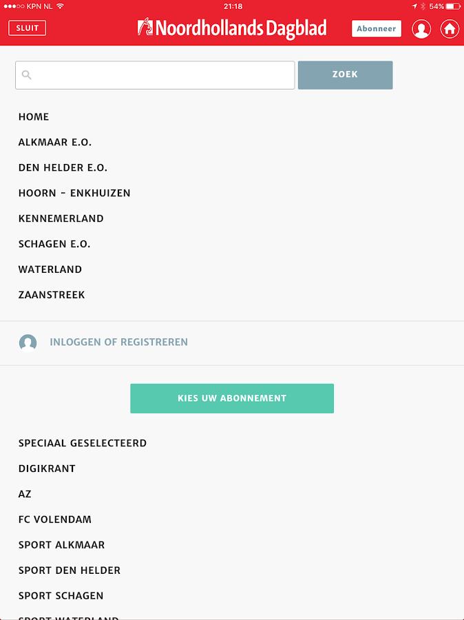 Noordhollands Dagblad - Android-apps op Google Play