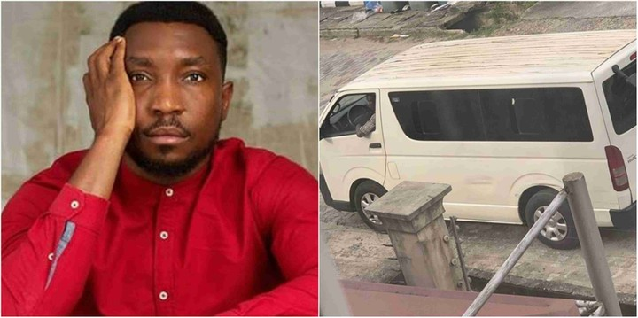 Timi Dakolo has cried out on social media on some strange men parading around his home with guns.