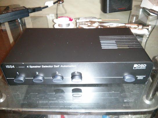 OSD 4-Zone Speaker Selector Image