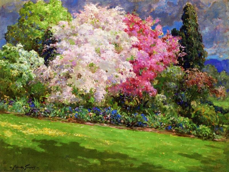Abbott Fuller Graves - Spring Garden, Kennebunkport