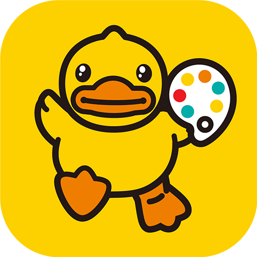 B.Duck Coloring Book