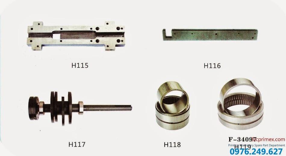 Phụ kiện máy in Hải Đức Bảo chính hãng giá rẻ H115-119