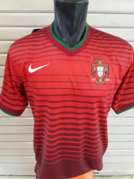 Jual Jersey Portugal Home Piala Dunia 2014