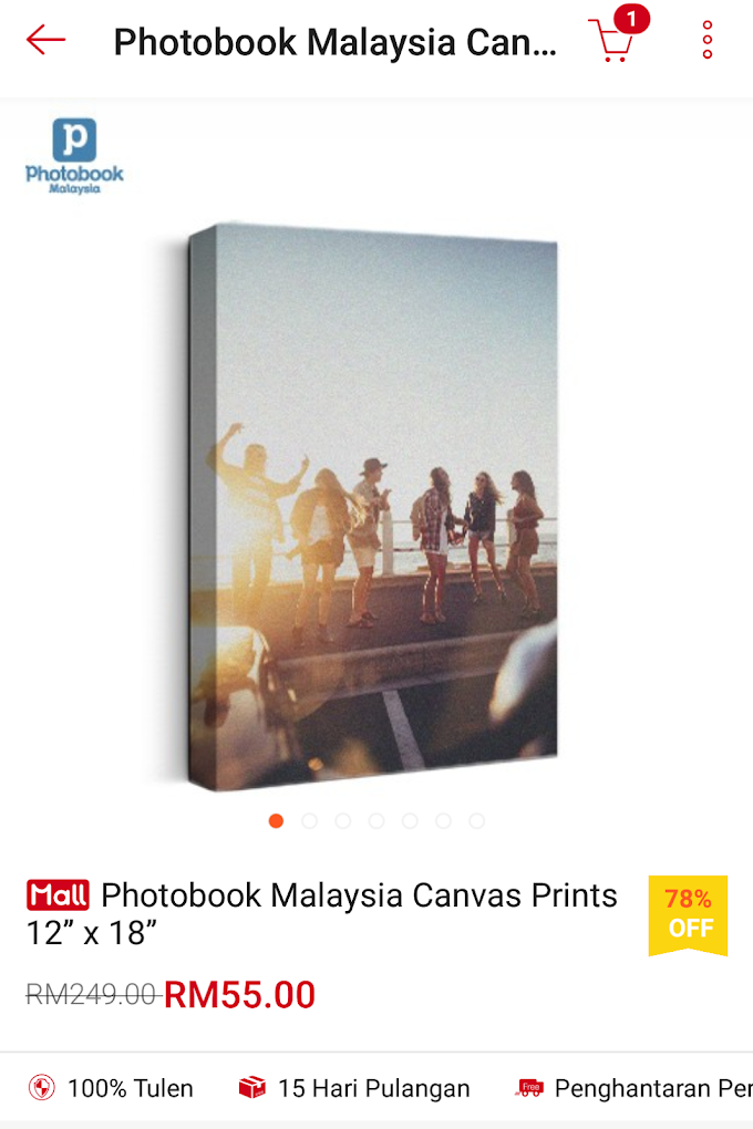 PHOTO CANVAS dari PHOTOBOOK MALAYSIA