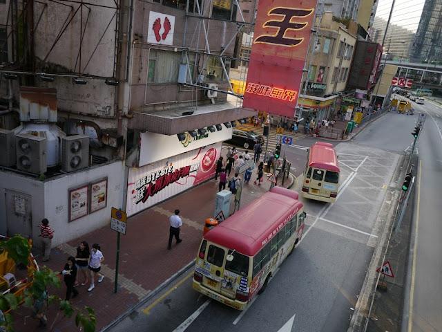 minibuses in Tsuen Wan, Hong Kong