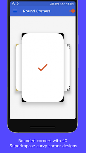 Round Corners app for Android screenshot