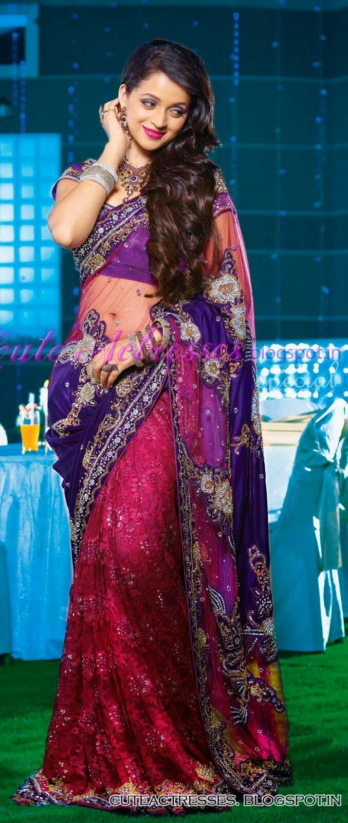 Bhavana hottest saree pictures