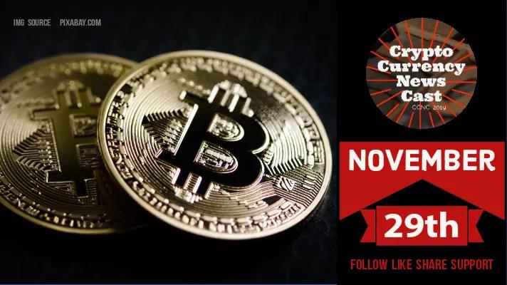 Crypto News Cast For November 29th 2020 ?