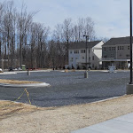 Parking lot panorama: ready for concrete