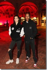 FLORENCE, ITALY - JUNE 13:  Adrianne Ho and Alex Shorty  attends MONCLER FRAGMENT Florence on June 13, 2018 in Florence, Italy.  (Photo by Vittorio Zunino Celotto/Getty Images for Moncler) *** Local Caption *** Adrianne Ho;Alex Shorty