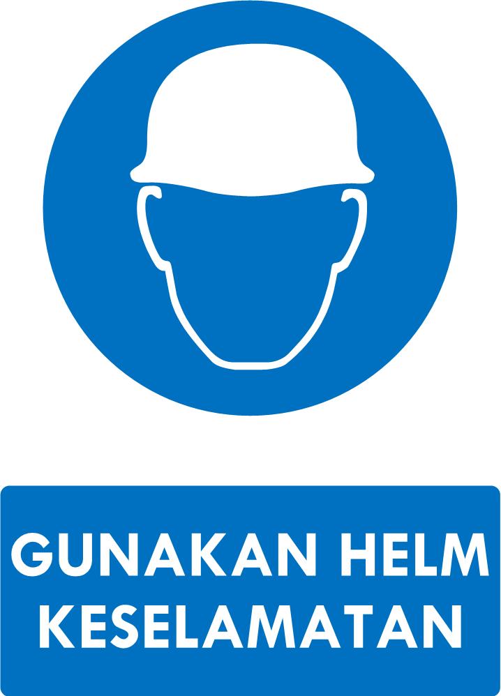 Rambu Helm Keselamatan