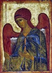 Ο Αρχάγγελος Γαβριήλ, βυζαντινή εικόνα (1387–1395)