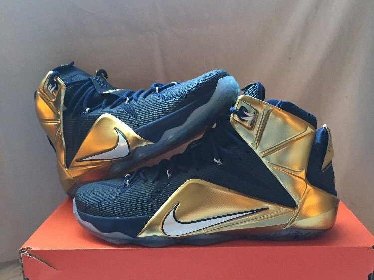 new style fe2a6 a67eb ... An Additional Look at University of Akron LeBron 12 PE ...
