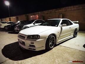 Godzilla Skyline White