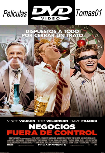Negocios Fuera de Control (Unfinished Business) (2015) DVDRip