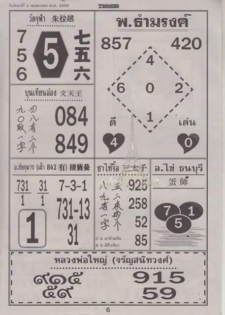 Thai King Boss Free Tips - Page 2 FB_IMG_1460944618102