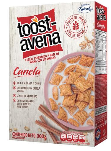 Cereal Toost Avena Canela 300Gr
