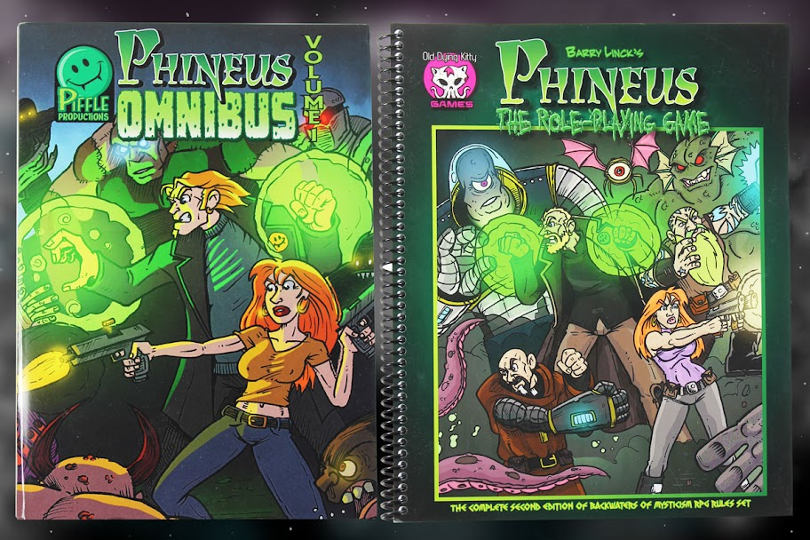 Phineus Omnibu 1 and RPG