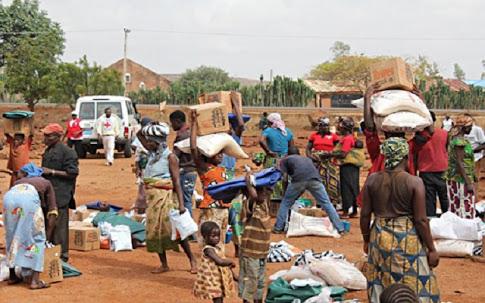 Malkohi Internally Displaced Persons (IDPs) camp near Yola