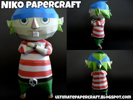 The Wind Waker Niko Papercraft