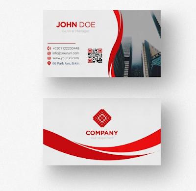 Membuat Kartu Nama Untuk Perusahaan Property   Templates Design Gratis