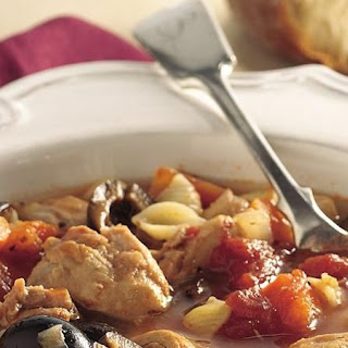 Slow-Cooker Italian Chicken-Pasta Soup Recipe