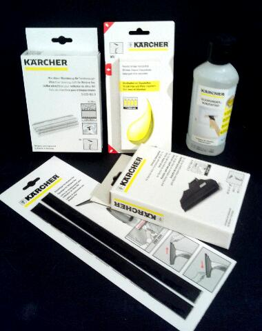 produktinfo und test k rcher fenstersauger zubeh r und ersatzteile. Black Bedroom Furniture Sets. Home Design Ideas