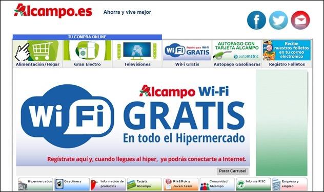 Abrir mi cuenta Alcampo.es