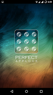 Perfect AppLock - náhled
