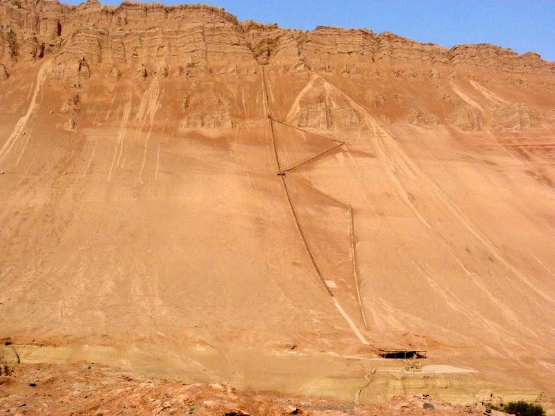 XINJIANG.  Turpan. Ancient city of Jiaohe, Flaming Mountains, Karez, Bezelik Thousand Budda caves - P1270916.JPG
