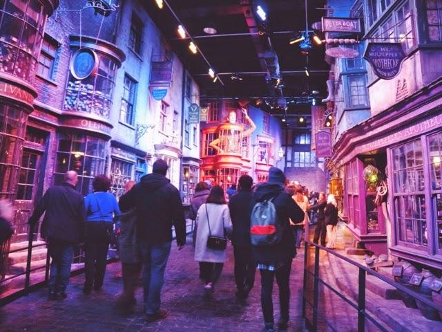Warner Bros Studios, Harry Potter, Diagon Alley