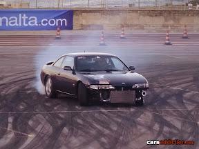 Nissan 200sx drifting