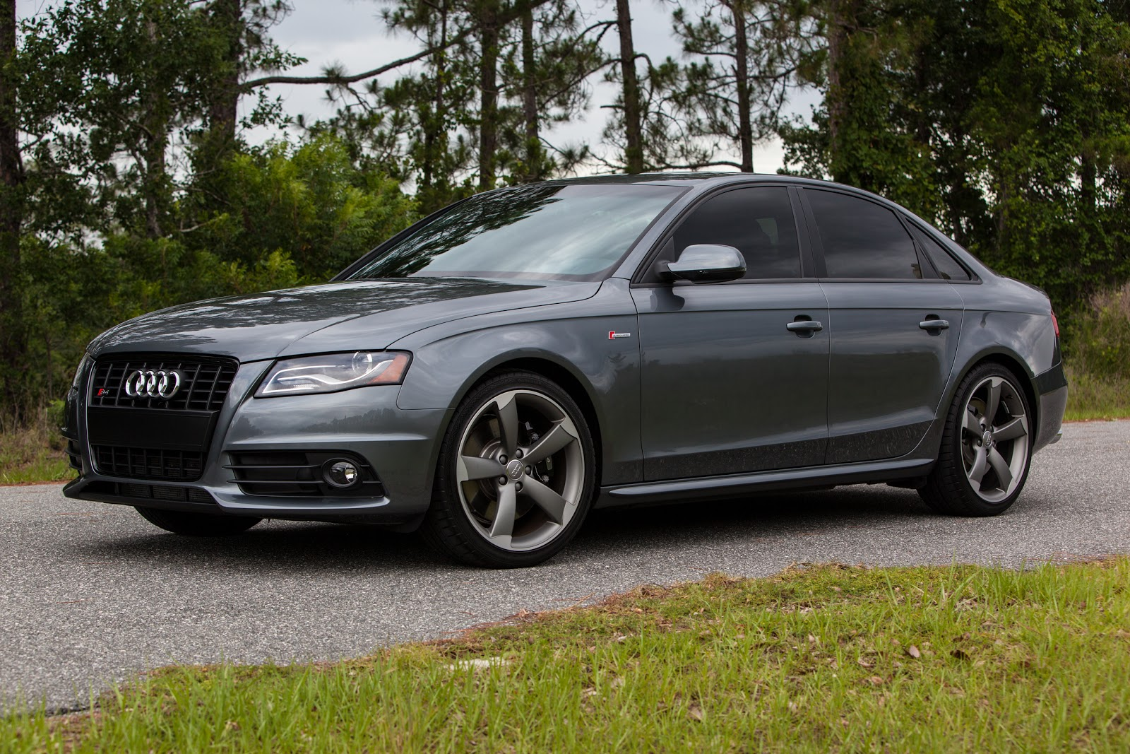 White Audi A4 Sport >> Photos of My 2012 Monsoon Gray Titanium Package