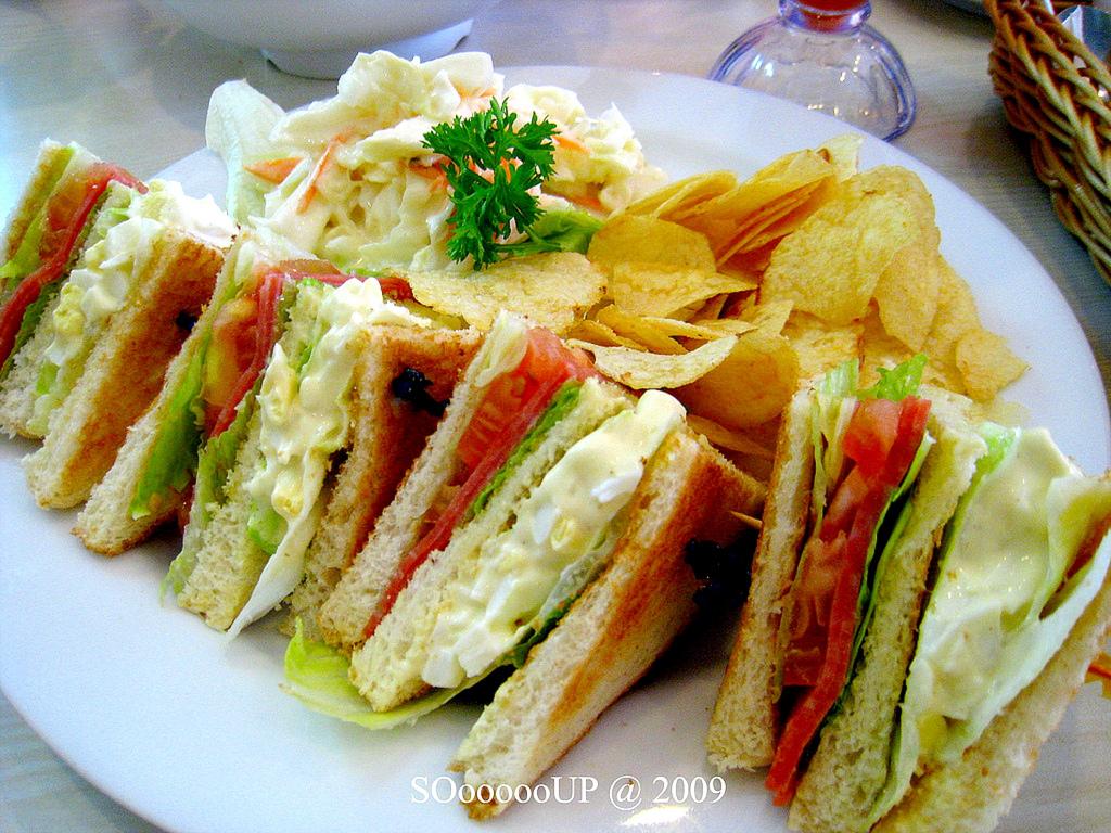 Sooooooup november 2010 for Club sandwich fillings for high tea