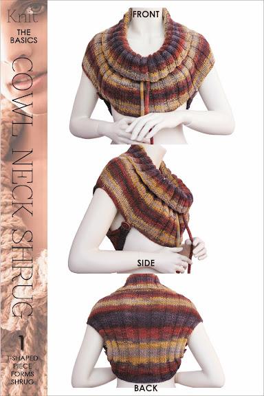 Knitting Pattern Cowl Shrug : DiaryofaCreativeFanatic