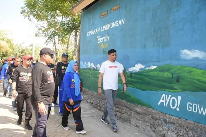 Bupati Gowa Kunjungi Proyek Program Kota Tanpa Kumuh di Kel. Tombolo