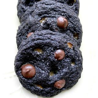 Dark Chocolate Chip Salted Caramel Cookies