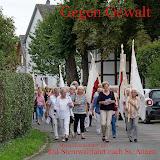 Gegen Gewalt kfd-Sternwallfahrt nach St. Annen