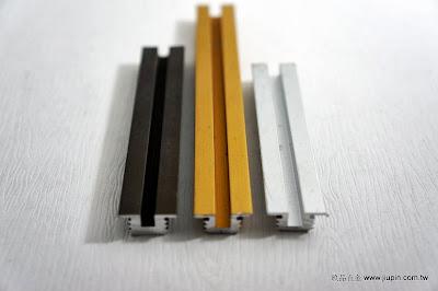 裝潢五金 品名:0998-書櫃T型軌 規格:9M/M 顏色:銀色/金色/咖啡色 玖品五金