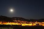 Cattolica di sera - foto ripresa da contrada Sonatore