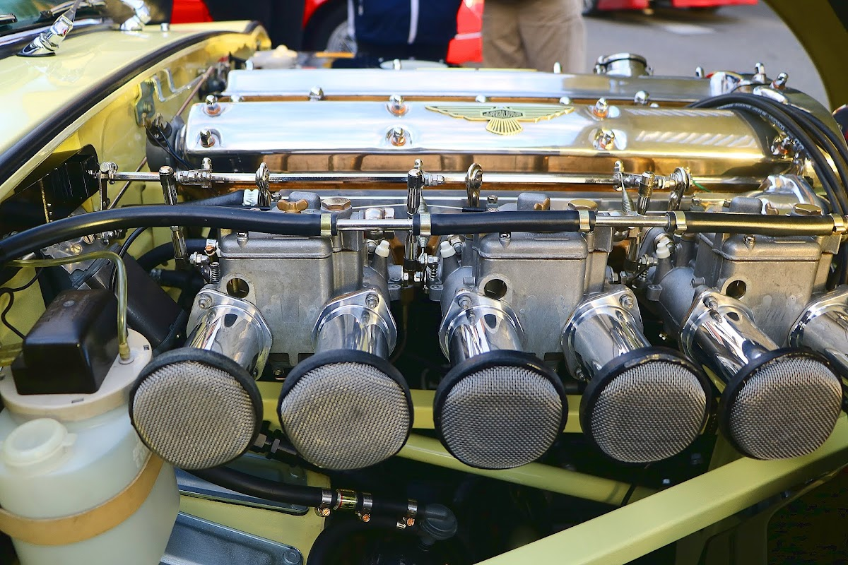 1964 Jaguar E-Type 3.8 Engine Bay 3.jpg