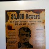 Butch Cassidy na Hosteria La Leona, Ruta 40 rumo a El Calafate, Argentina