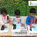 Pyjama Party by Nursery Section at Witty World Bangur Nagar (2018-2019)